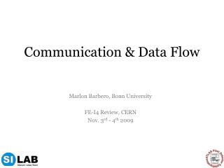 Communication & Data Flow