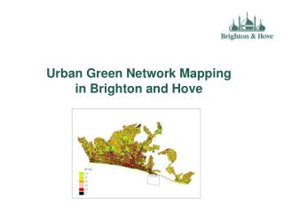 Urban Green Network Mapping in Brighton and Hove