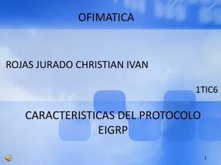 ROJAS JURADO CHRISTIAN IVAN