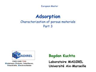 Adsorption Characterization of porous materials Part 3