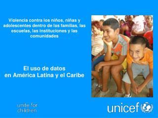 Informe  Mundial  sobre la Violencia contra los Niños y Niñas Recomendación no. 2