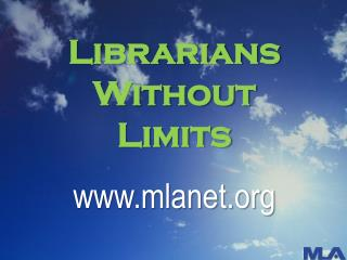 Librarians Without  Limits