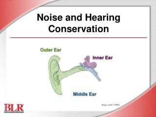Noise and Hearing Conservation