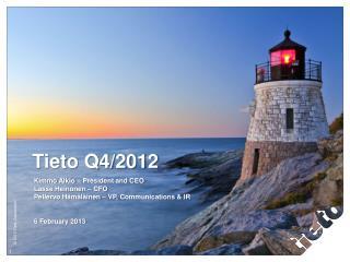 Tieto Q4/2012