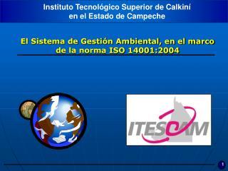 El Sistema de Gestión Ambiental, en el marco de la norma ISO 14001:2004