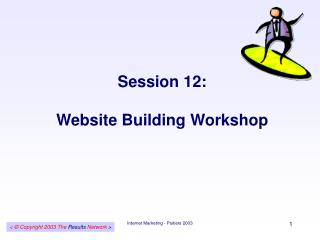 Session 12: Website Building Workshop