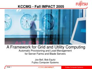 A Framework for Grid and Utility Computing
