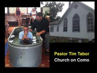 Pastor Tim Tabor