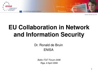 EU Collaboration in Network and Information Security