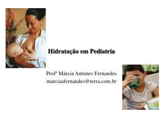 Hidrata��o em Pediatria
