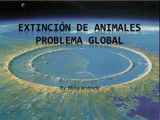 Extinción de animales  Problema Global