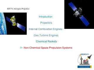 Introduction Propellers Internal Combustion Engines