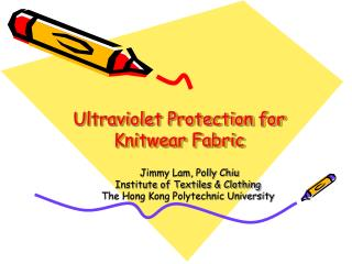 Ultraviolet Protection for Knitwear Fabric