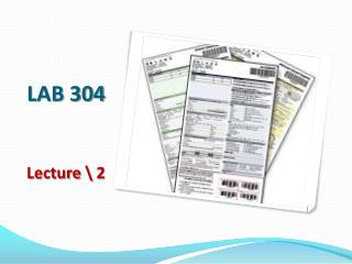 LAB 304 Lecture \  2