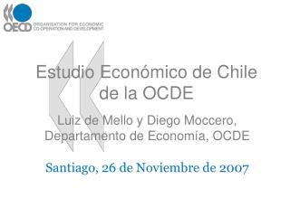 Estudio Económico de Chile de la OCDE