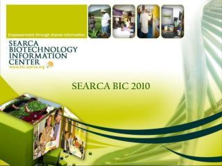 SEARCA BIC 2010