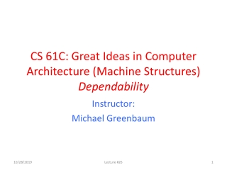 Information Security  CS 526 Lecture 2