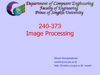 240-373  Image Processing