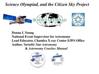 Science Olympiad, and the Citizen Sky Project