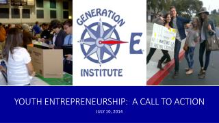 Youth Entrepreneurship:  A Call to Action
