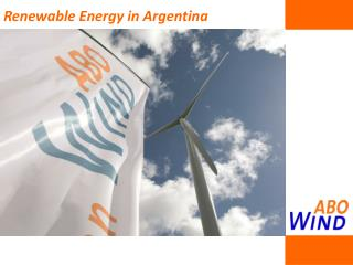Renewable Energy in Argentina