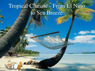 Tropical Climate - From El Nino to Sea Breeze