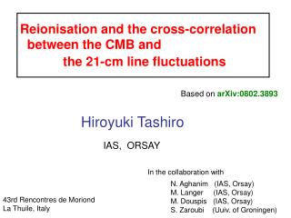 Reionisation and the cross-correlation   between the CMB and