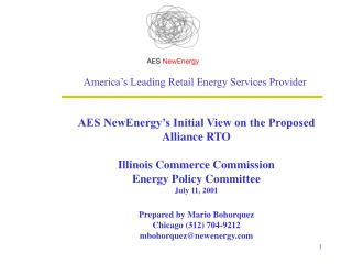 America's Leading Retail Energy Services Provider