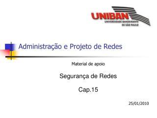 Administração e Projeto de Redes