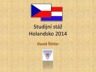 Studijní stáž Holandsko 2014