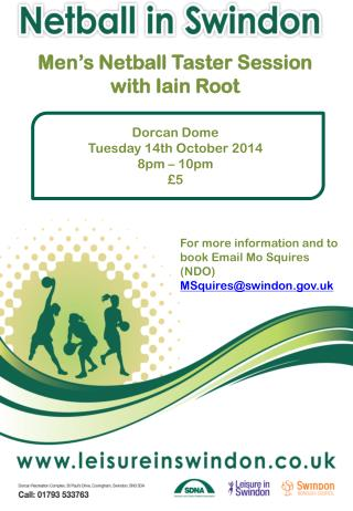 Men's Netball Taster Session with Iain Root