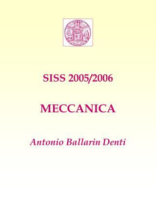 SISS 2005/2006