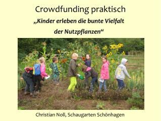 Crowdfunding praktisch