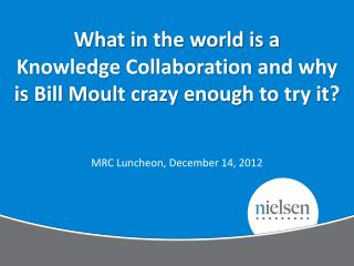 MRC Luncheon, December 14, 2012