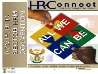 KZN PUBLIC SECTOR HRM CONVENTION