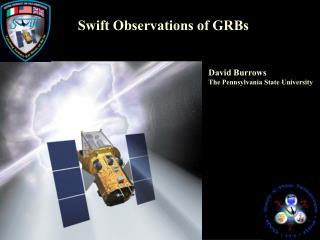 Swift Observations of GRBs