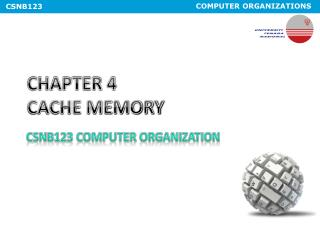 CHAPTER 4 CACHE MEMORY