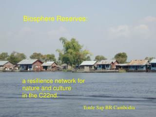 a resilience network for  nature and culture  in the C22nd.