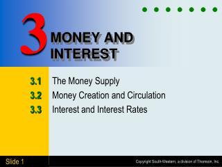 MONEY AND INTEREST