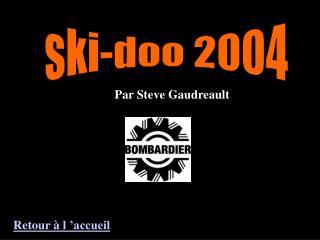 ski-doo 2004