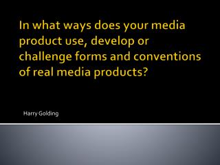 Harry Golding