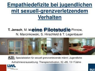T. Jensch , M. Holtmann, H. Schneewei�, M. Pinnow,