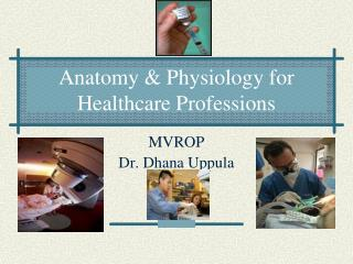 Anatomy & Physiology for Healthcare Professions