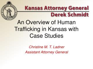 An Overview of Human Trafficking in Kansas with Case Studies