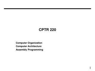 CPTR 220
