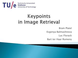 Keypoints in Image Retrieval