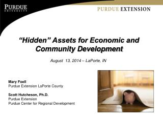 �Hidden� Assets for Economic and Community Development