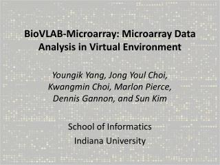 BioVLAB-Microarray: Microarray Data Analysis in Virtual Environment