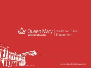 What is Public Engagement?