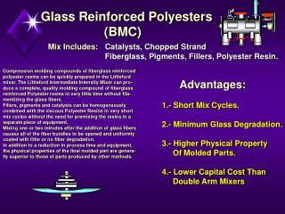 Glass Reinforced Polyesters                    (BMC)